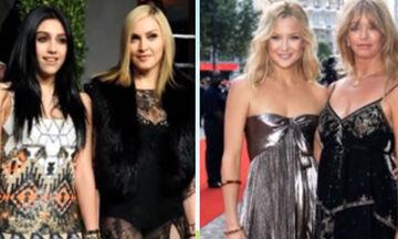 Διάσημες μαμάδες και κόρες φωτογραφίζονται μαζί και εντυπωσιάζουν (vid)