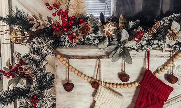 Είκοσι ιδέες για να στολίσετε το σπίτι με χριστουγεννιάτικες γιρλάντες (pics)