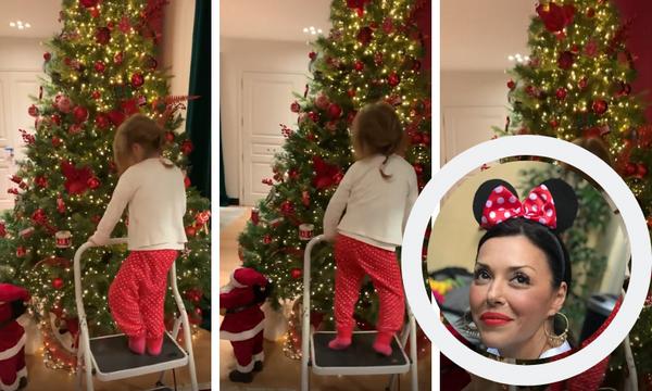 Δείτε την κόρη της Σίσσυς Φειδά να χορεύει «I wanna wish you a Merry Christmas» (vid)