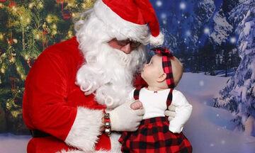 Μωράκια γιορτάζουν τα πρώτα τους Χριστούγεννα και οι φωτογραφίες τους είναι ξεχωριστές (pics)