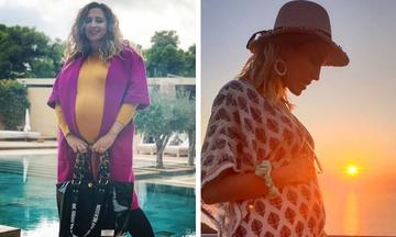 Όμορφες διάσημες κοιλίτσες - Ποιες Ελληνίδες περιμένουμε να γεννήσουν πριν αλλάξει η χρονιά; (pics)