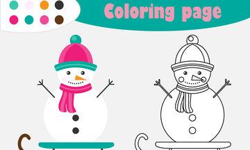 Χριστουγεννιάτικες χρωμοσελίδες για παιδιά - Εκτυπώστε τις όλες (pics)