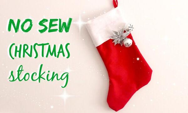 DIY - Χειροποίητες χριστουγεννιάτικες κάλτσες για το τζάκι (vid)