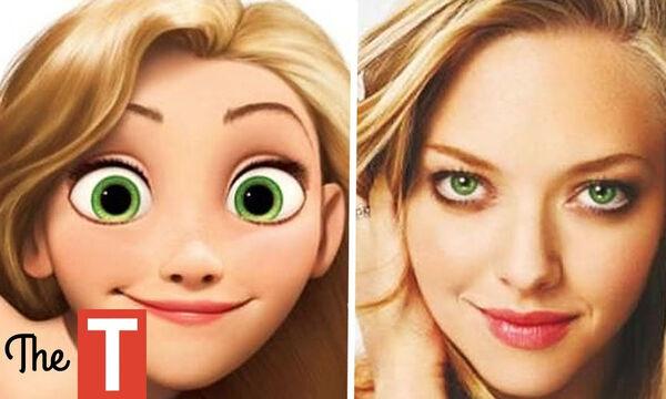 Δέκα άνθρωποι που μοιάζουν εκπληκτικά με ήρωες αγαπημένων παιδικών ταινιών (vid)