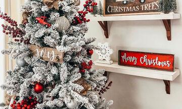 Αυτό είναι το tip για να κάνετε το χριστουγεννιάτικο δέντρο σας να φαίνεται χιονισμένο (vid)
