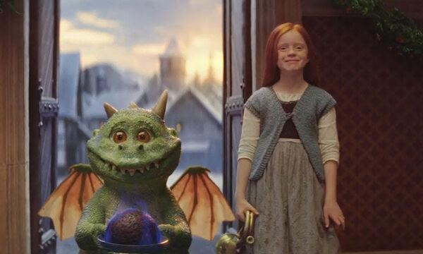 Αυτή τη χριστουγεννιάτικη διαφήμιση με το μικρό δράκο θα τη λατρέψουν μικροί και μεγάλοι (vid)