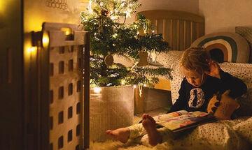 Ιδέες για να στολίσετε χριστουγεννιάτικα το παιδικό δωμάτιο (pics)
