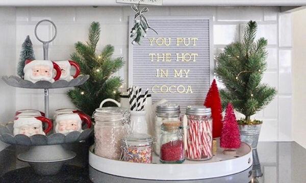 Υπέροχες χριστουγεννιάτικες κουζίνες που ζηλέψαμε - Πάρτε ιδέες διακόσμησης (pics)