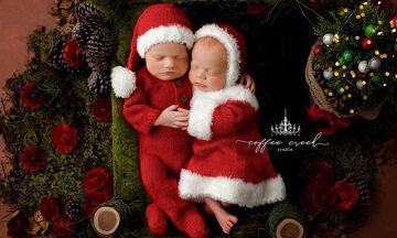 Αυτά τα μωράκια ντυμένα Άγιοι Βασίληδες θα σας κλέψουν την καρδιά (pics)