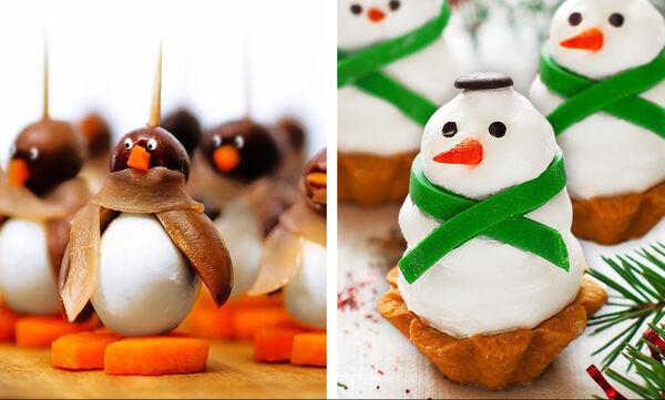 30+1 ιδέες για τα πιο χριστουγεννιάτικα σνακ για το γιορτινό τραπέζι (vid)
