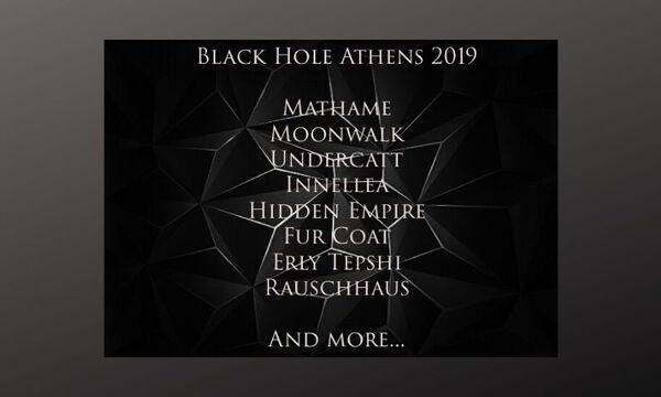 Το Line Up των ξένων Djs του Black Hole είναι απλά...μοναδικό!