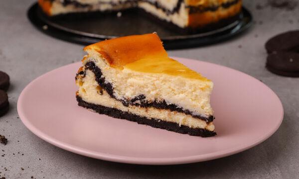Συνταγή για λαχταριστό oreo cheesecake