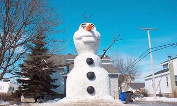 Αυτός είναι ο πιο εντυπωσιακός Olaf που έχετε δει (vid)