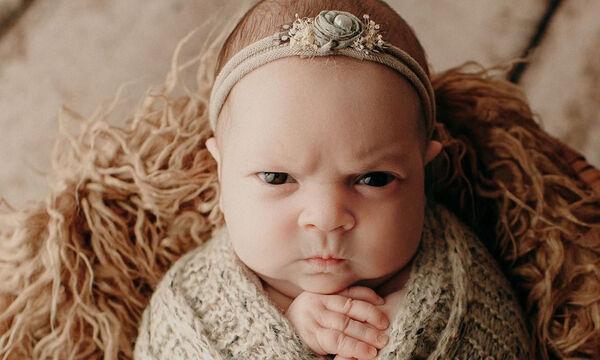 Αυτό είναι το πιο θυμωμένο αλλά αξιολάτρευτο μωράκι που έχουμε δει (vid)