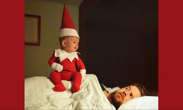 Μπαμπάς έντυσε το μωρό του ξωτικό και τράβηξε τις πιο υπέροχες φωτογραφίες (pics)