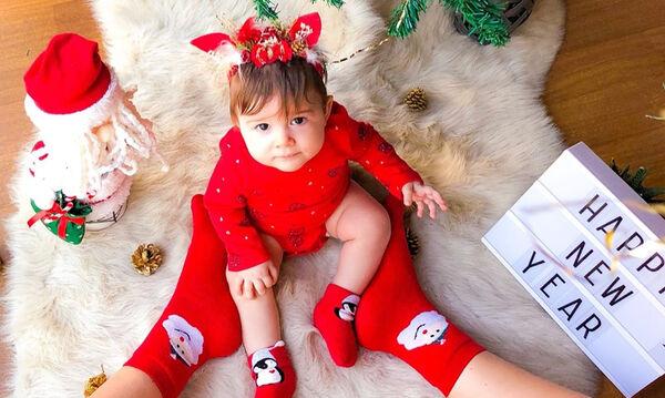 Γονείς φωτογραφίζουν τα μωράκια τους την Πρωτοχρονιά και είναι υπέροχα (pics)