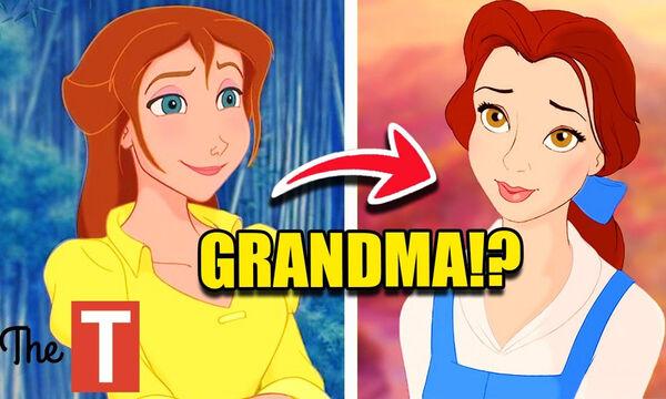 Δέκα χαρακτήρες της Disney που είναι συγγενείς και δεν το γνωρίζαμε (vid)