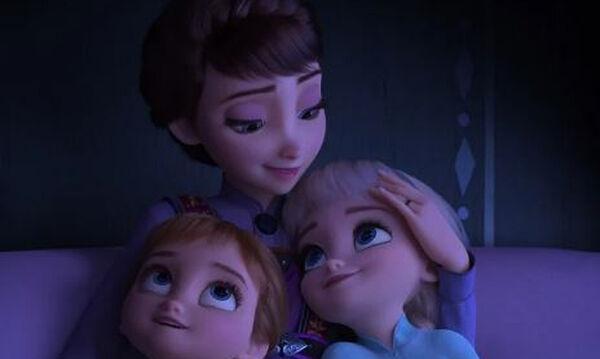 Δοκίμασα το κόλπο νανουρίσματος από το Frozen 2 και φάνηκε να λειτουργεί