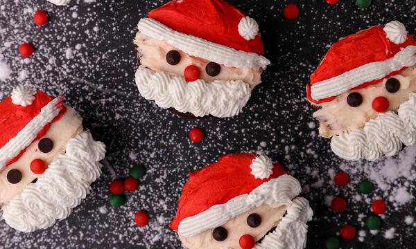 Φτιάξτε λαχταριστά Cupcakes Άγιος Βασίλης