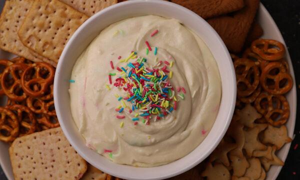 Χριστουγεννιάτικο dip για μπισκότα - Τα μικρά σας θα ξετρελαθούν