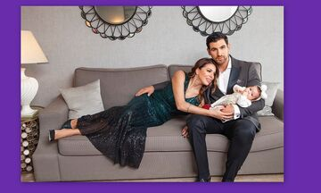 Ελένη Χατζίδου: Τα πρώτα Χριστούγεννα με την κόρη της – Δες όλες τις φώτο της μικρής και θα λιώσεις!