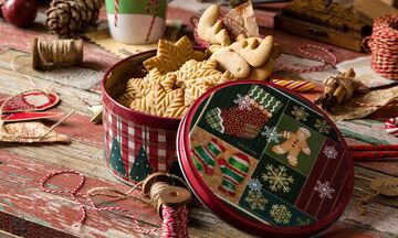 Χριστουγεννιάτικα μπισκότα βουτύρου + 5 διαφορετικές προτάσεις για σχέδια και διακόσμηση (vid)