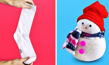 Απίθανες ιδέες για χριστουγεννιάτικες κατασκευές παρέα με τα παιδιά σας (vid+pics)
