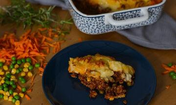Shepherd's pie: Κλασική Αγγλική πίτα, γνωστή και ως πίτα του βοσκού