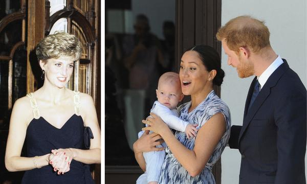 Μέσα στο βρεφικό δωμάτιο του πρίγκιπα Archie υπάρχει φωτογραφία της πριγκίπισσας Diana (vid+pics)