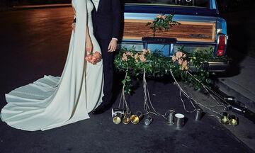 Παντρεύτηκαν κάτω από άκρα μυστικότητα ένα χρόνο μετά τη γέννηση της κόρης τους (pics)