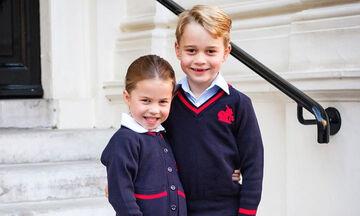 Δείτε πόσο έχει ψηλώσει ο πρίγκιπας George... κοντεύει να φτάσει τη βασίλισσα Ελισάβετ (pics+vid)