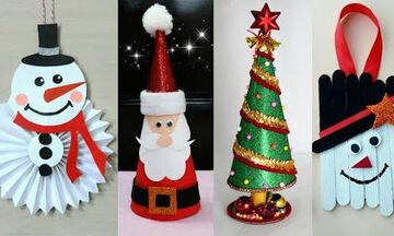Χριστουγεννιάτικη διακόσμηση της τελευταίας στιγμής; Πάρτε ιδέες  (vid)