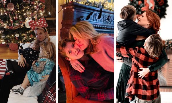 Χριστουγεννιάτικες οικογενειακές φωτογραφίες που δημοσίευσαν διάσημες Ελληνίδες μαμάδες (pics)