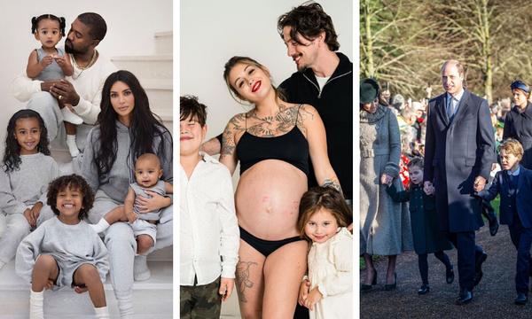 Πώς γιόρτασαν οι ξένοι celebrities τα Χριστούγεννα με τις οικογένειές τους (pics)