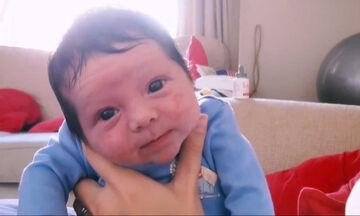 24 ώρες με ένα νεογέννητο - Το απολαυστικό βίντεο ενός μπαμπά (vid)