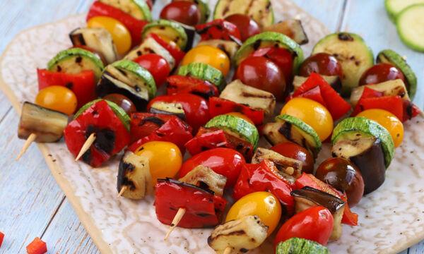 Σουβλάκια λαχανικών - Ένα εύκολο φαγητό που θα λατρέψουν όλοι στο σπίτι