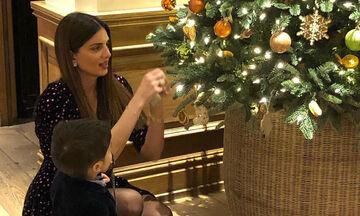 Σταματίνα Τσιμτσιλή: Απόδραση στο Λονδίνο με την οικογένειά της - Δείτε φώτο (pics)