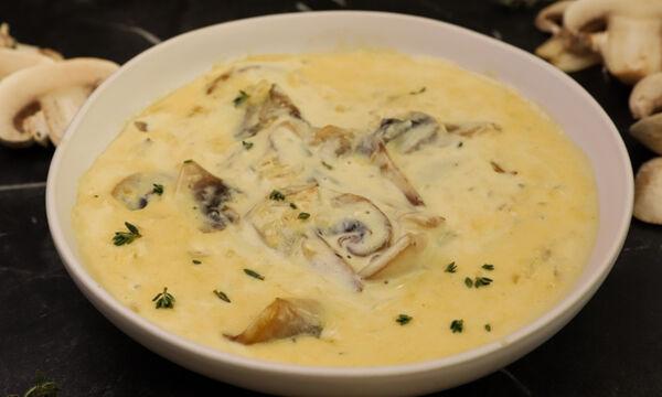 Συνταγή για σάλτσα μανιταριών