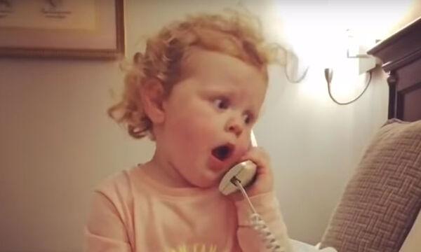 Ο πιο χαριτωμένος διάλογος μικρού κοριτσιού με φανταστικό της φίλο (vid)