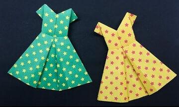 Δείτε πως μπορείτε να φτιάξετε αυτό το φόρεμα με… χαρτί (vid)