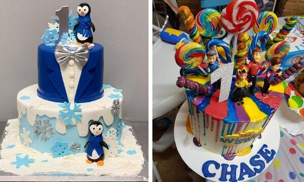 Είκοσι φανταστικές τούρτες για τα πρώτα γενέθλια του παιδιού σας (pics)