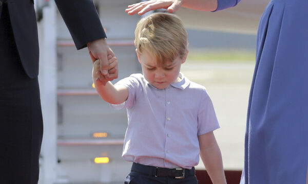 H αλλαγή στην εμφάνιση του πρίγκιπα George που δεν πρόσεξε κανείς (pics)