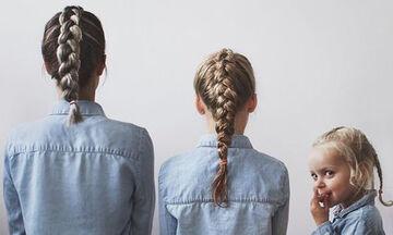 5+1 χτενίσματα για μαμάδες και κόρες - Δοκιμάστε τα! (pics)