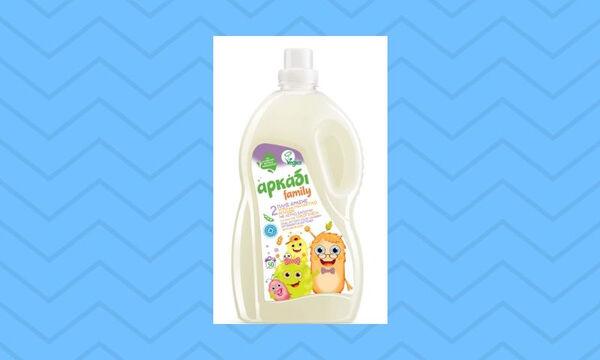 Αρκάδι Family υγρό πλυντηρίου διπλής δράσης!