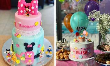Δεκαπέντε εντυπωσιακές τούρτες γενεθλίων για κορίτσια - Πάρτε ιδέες (pics)