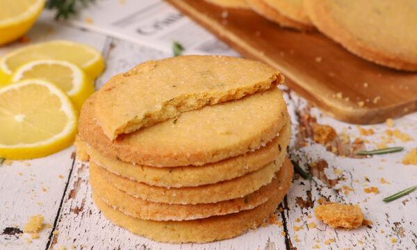 Μπισκότα με λεμόνι και δεντρολίβανο - Μία συνταγή που θα αγαπήσετε
