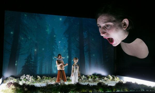 «Η Μικρή μέσα στο Σκοτεινό Δάσος» του βραβευμένου συγγραφέα Philippe Minyana (pics)