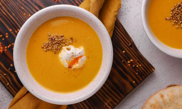 Συνταγή για πεντανόστιμη σούπα με καρότο και φακές