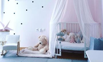 Αυτό είναι το πιο ρομαντικό παιδικό δωμάτιο που έχουμε δει & το έχει φτιάξει Ελληνίδα μαμά (pics)