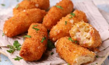 Κροκέτες με ζαμπόν και τυρί - Δείτε πώς θα τις φτιάξετε